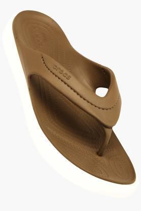 CROCSWomens Casual Slipon Flip Flops - 200836945
