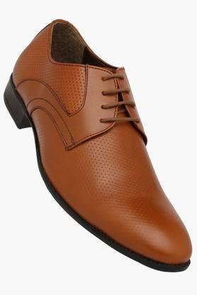 Mens Leather Slip On Derbys