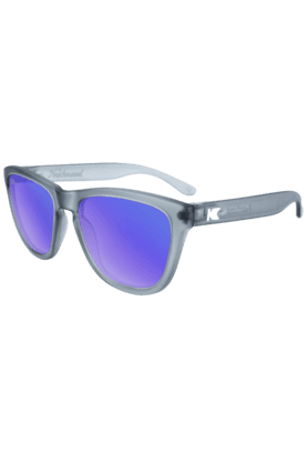 KNOCKAROUND Premium Unisex Sunglassess Frosted Grey/POLARIZED Moonshine-PMMS3003 (Use Code FB20 To Get 20% Off On Purchase Of Rs.1800)