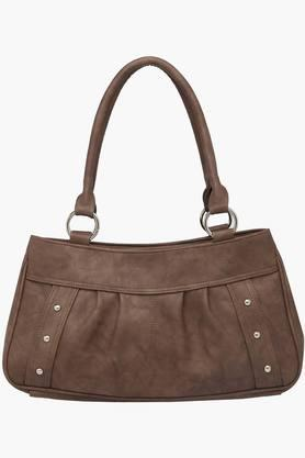 Womens Zipper Closure Synthetic Leather Tote Handbags - 201837249
