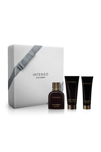 Unisex Intenso 125 ml Eau de Parfum with Shave Balm and Shower Gel Set