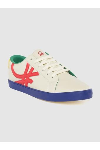UNITED COLORS OF BENETTON -  WhiteSports Shoes & Sneakers - Main