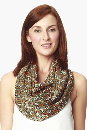 NINE MATERNITY Maternity Nursing Scarf In Dot Print