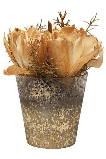 BACK TO EARTH -  Gold Vases & Planters & Flowers - Main