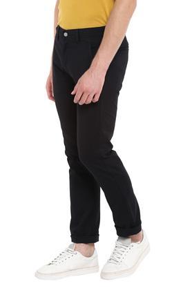 Mens 4 Pocket Coated Jeans