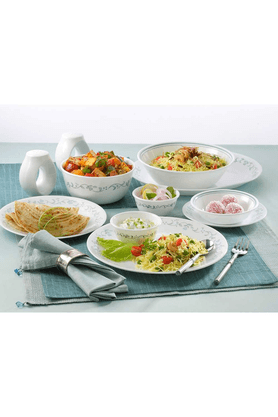 CORELLE Country Cottage (Set Of 21) - Dinner Set