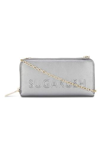 SUGARUSH -  Black Wallets & Clutches - Main
