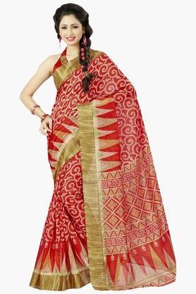 DEMARCAWomens Silk Designer Saree - 202338118