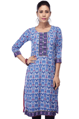 STOP Women Cotton Kurta - 9860650