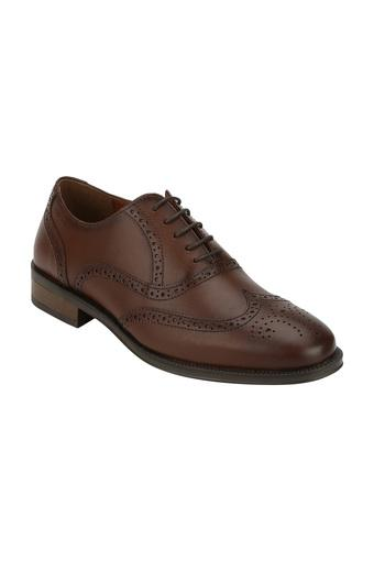 RED TAPE -  Teak Formal Shoes - Main