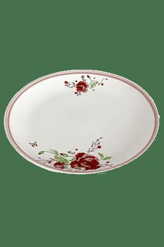 Buy DEVON NORTH Red Poppy Dinner Plate Online | Shoppers Stop