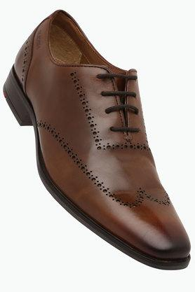 RUOSH Mens Leather Lace Up Smart Formal Shoes