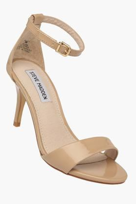STEVE MADDEN Womens Casual Ankle Buckle Closure Heel Sandals - 201646395