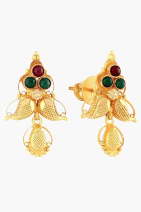 MALABAR GOLD AND DIAMONDSWomens 22 KT Gold Earrings - 201203704