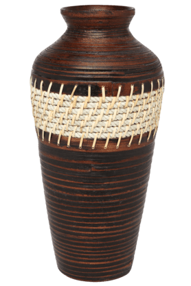 BACK TO EARTH Bamboo Small Vase