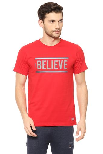 OCTAVE -  Red T-Shirts & Polos - Main