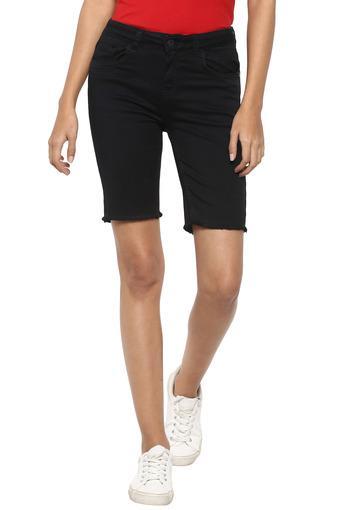 LIFE -  BlackCapris & Shorts - Main