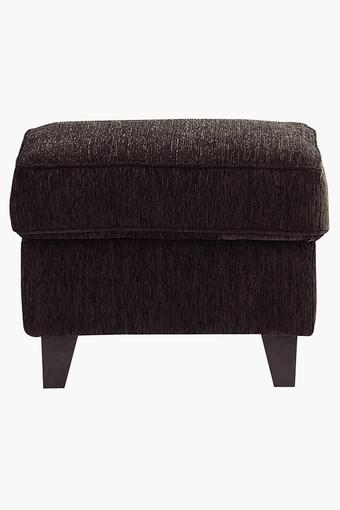 Earth Brown Fabric Sofa (Sofa Pouf)