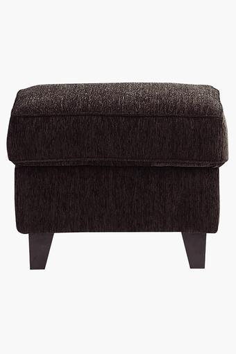 Earth Brown Fabric Sofa (Sofa Pouf)