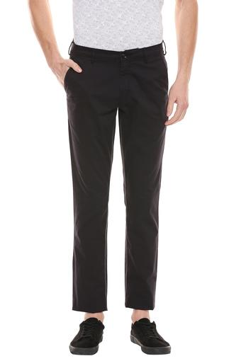 COLOR PLUS -  Black Cargos & Trousers - Main