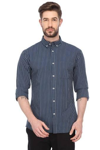 CELIO -  BlueCasual Shirts - Main