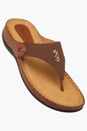 INC.5 Womens Daily Wear Slipon Flat Sandal