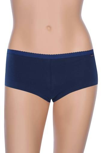 Womens Solid Boy Shorts - Pack Of 2