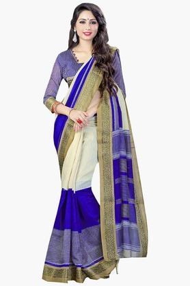 DEMARCAWomens Silk Designer Saree - 202338144