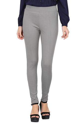 Womens Solid Formal Trousers