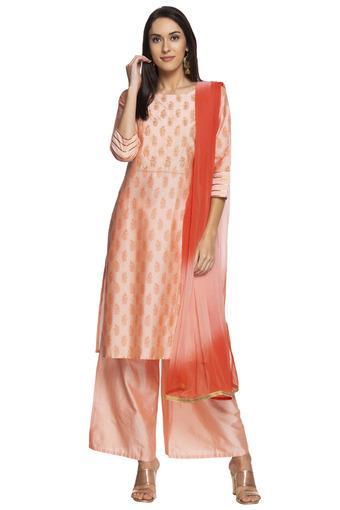 KASHISH -  OrangeSalwar & Churidar Suits - Main