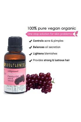 Coldpressed Grapeseed Carrier Oil - 30ml