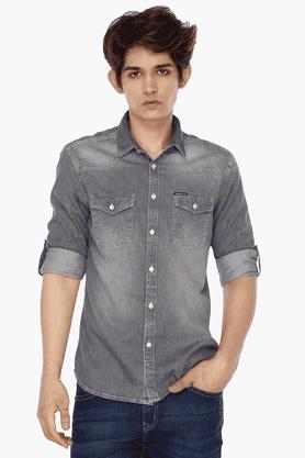 Mens Stonewash Shirt