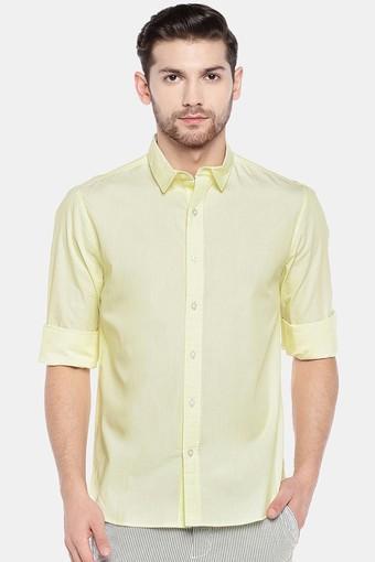 COTTONWORLD -  YellowCasual Shirts - Main