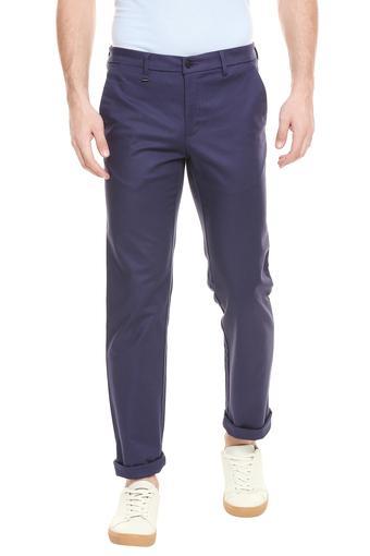 VAN HEUSEN -  NavyFormal Trousers - Main