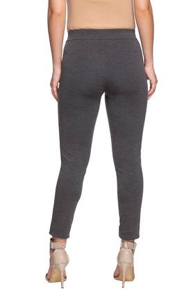 ALLEN SOLLY - Grey Trousers & Pants - 1