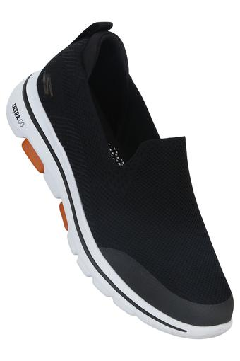 SKECHERS -  Black Sports Shoes - Main