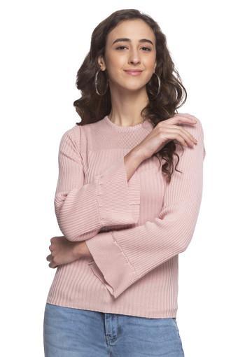 DISHA PATANI FOR GLAM LIFESTYLE -  PinkWinterwear - Main