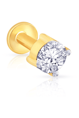 MALABAR GOLD AND DIAMONDSWomens Mine Diamond Nosepin - 201594459