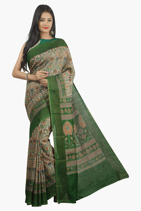 JASHN Womens Printed Saree - 201502563