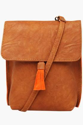 BAGGIT Womens Snap & Zipper Closure Sling Bag