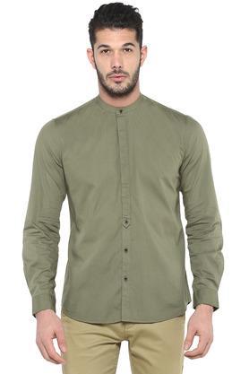 FRATINI - OliveCasual Shirts - Main