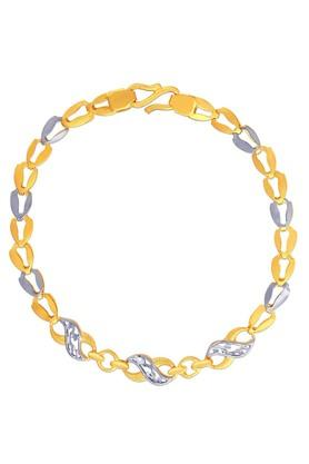 MALABAR GOLD AND DIAMONDS Womens Gold Bracelet SKYBR029