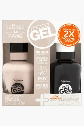 SALLY HANSEN Miracle Gel Dual Pack - Top Coat + Birthday Suit