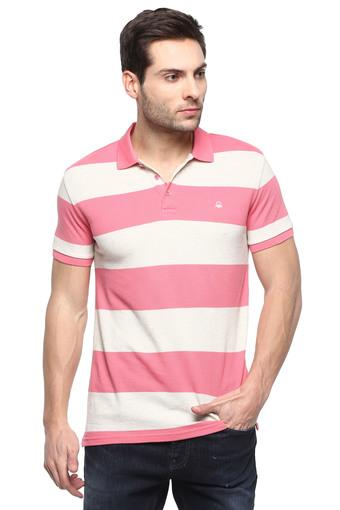 UNITED COLORS OF BENETTON -  Pink T-shirts - Main
