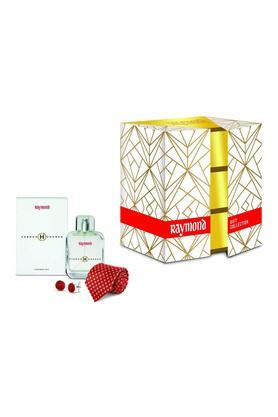 Raymond Gift Set (Raymond Eau De Parfum 100ml + Tie + Cufflink)