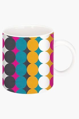 CRUDE AREABig Top Printed Ceramic Coffee Mug