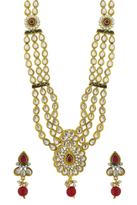 SIA Rasrawa Long Necklace Set - 16423
