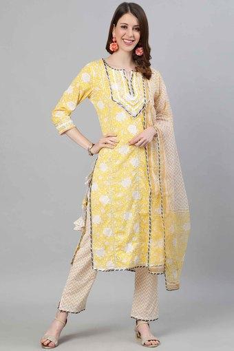 ISHIN -  YellowIndianwear Sets - Main