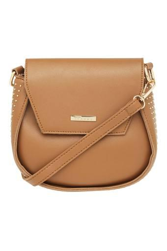 Womens Snap Closure Sling Bag