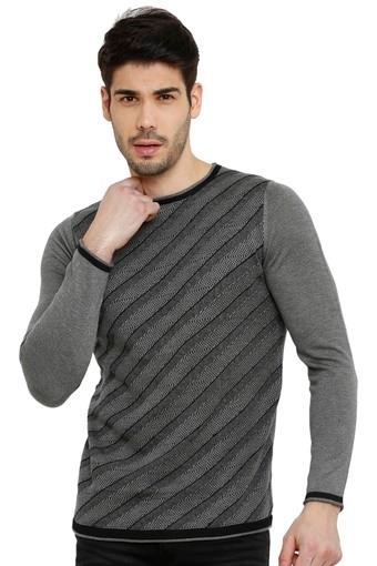 REX STRAUT JEANS -  Grey T-shirts - Main